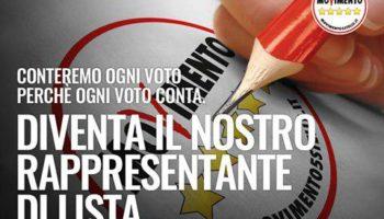 Rappresentanti di lista M5S elezioni amministrative 2016 Napoli